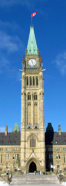 Houses of Parliament (Peace Tower)