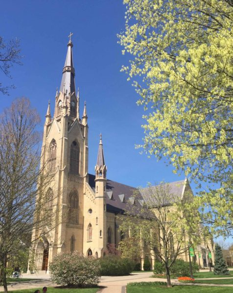 University of Notre Dame du Lac (Basilica of the Sacred Heart)